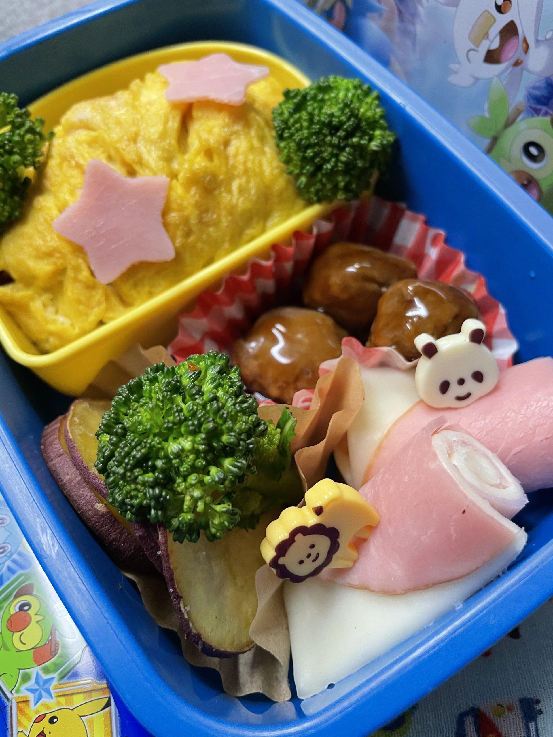 幼稚園最後のお弁当🍙